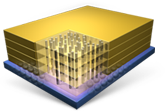 Three-dimensional integrated microsystems